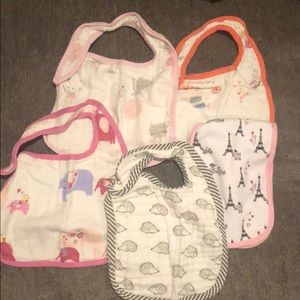 Baby bibs and burp cloth